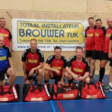 Totaal Installateur Brouwer Tuk verlengt sponsoring Heren 2